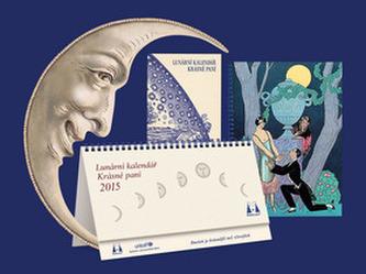 Lunární kalendář 2015 krásné paní s přílohou publikace