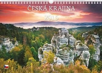 Česká krajina - nástěnný kalendář 2015