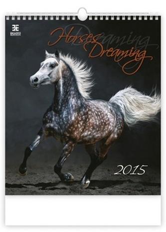 Horses Dreaming - nástěnný kalendář 2015