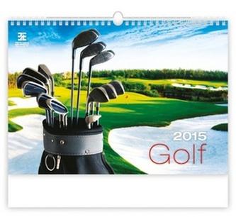 Golf - nástěnný kalendář 2015
