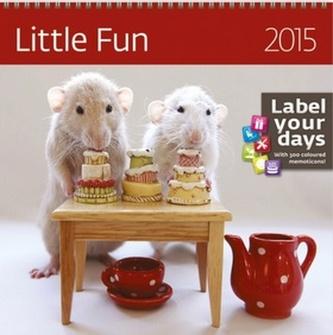 Little Fun - nástěnný kalendář 2015