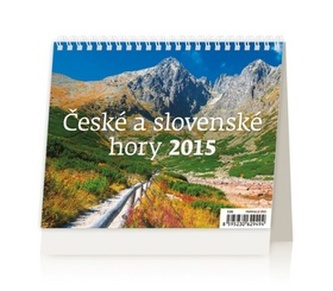České a slovenské hory - stolní kalendář 2015