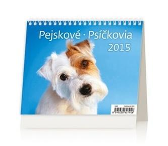 Pejskové Psíčkovia - stolní kalendář 2015