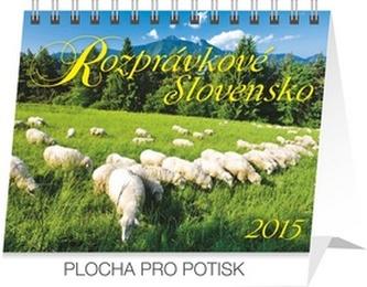 Rozprávkové Slovensko Praktik - stolný kalendár 2015