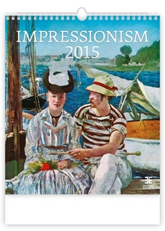 Impressionism - nástěnný kalendář 2015