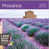 Provance - nástěnný kalendář 2015