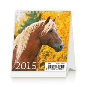 Mini Horses - stolní kalendář 2015