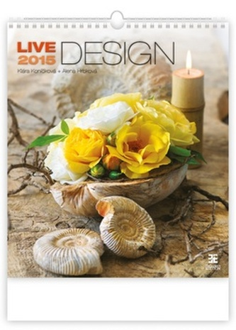 Live Design - nástěnný kalendář 2015