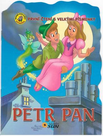 Petr Pan - První čtení s velkými písmenky