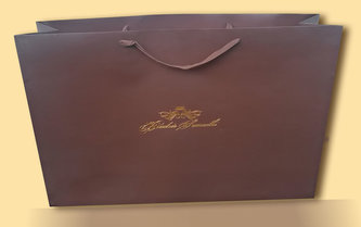 Hermes 1 - Papírová laminovaná taška