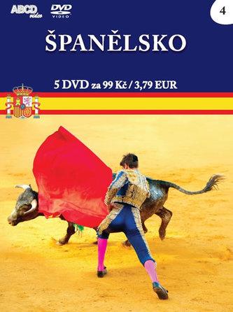 Španělsko - 5 DVD