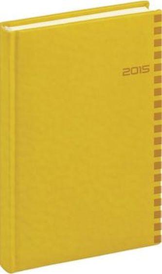 Diář 2015 - Tucson-Ontario - Denní A5, žlutá