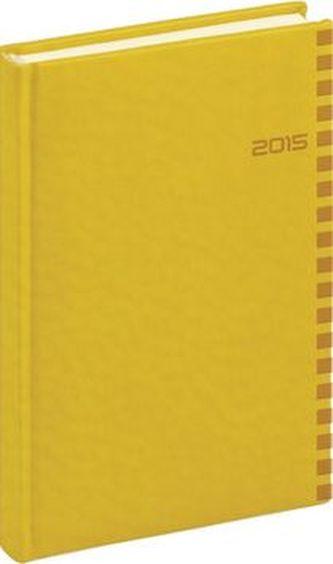 Diář 2015 - Tucson-Ontario - Denní B6, žlutá