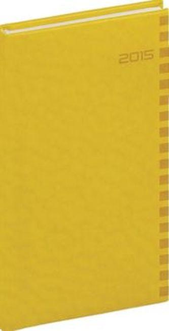 Diář 2015 - Tucson-Ontario - Kapesní, žlutá