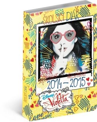 Violetta školský diár 2014-2015