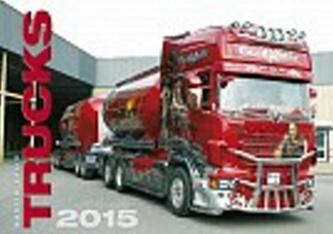 Kalendář nástěnný 2015 - Trucks
