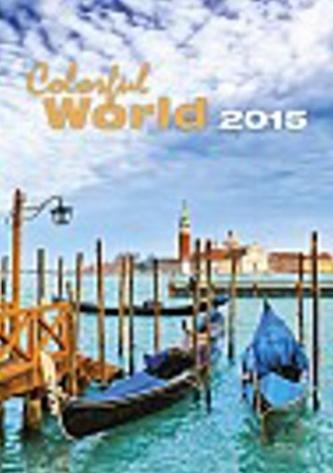 Kalendář nástěnný 2015 - Colorful World