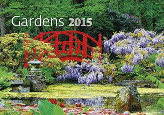 Kalendář nástěnný 2015 - Gardens