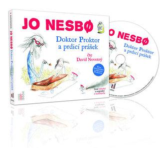 Doktor Proktor a prdicí prášek - CD mp 3 (čte David Novotný) - Jo Nesbø