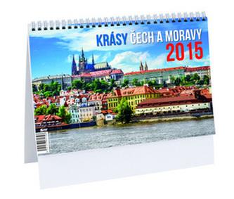 Krásy Čech a Moravy - stolní kalendář 2015