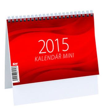 Mini týdenní kalendář - stolní kalendář 2015