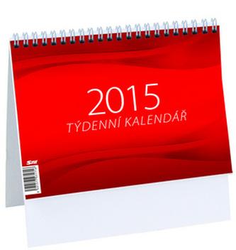 Týdenní kalendář - M - stolní kalendář 2015