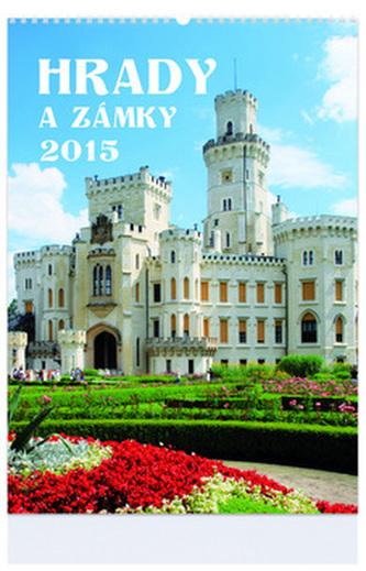 Hrady a zámky - nástenný kalendář 2015