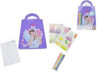 Violetta Kreslící sada taška s módními návrhy a samolepkami