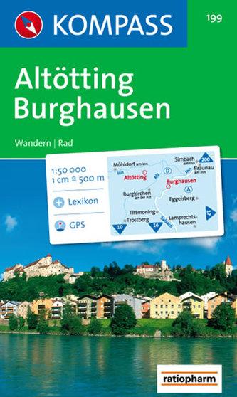 Altötting Burghausen  199     NKOM  1:50T
