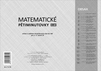 Matematické pětiminutovky 2. díl - Hana Staudková