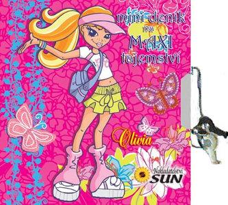 Mini deník na maxi tajemství - Olivia