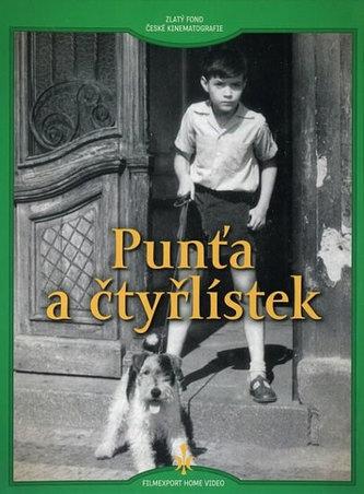 Punťa a čtyřlístek - DVD (digipack)