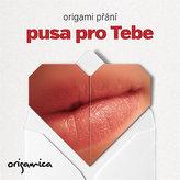 Origami přání - Pusa pro Tebe