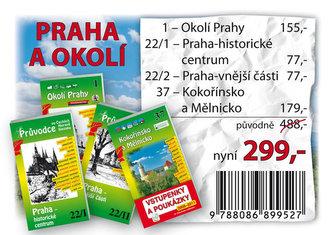 Praha a okolí - Balíček průvodců