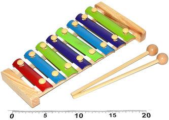 Xylofon - 8 kláves (24 cm)