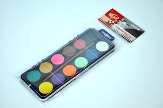 Vodové barvy - 12 barev - neuveden