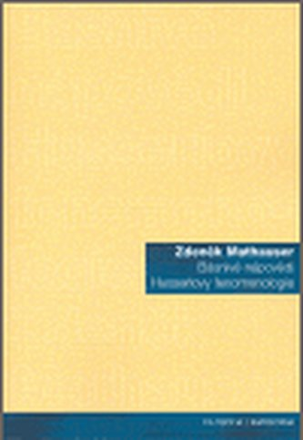Básnivé nápovědi Husserlovy fenomenologie
