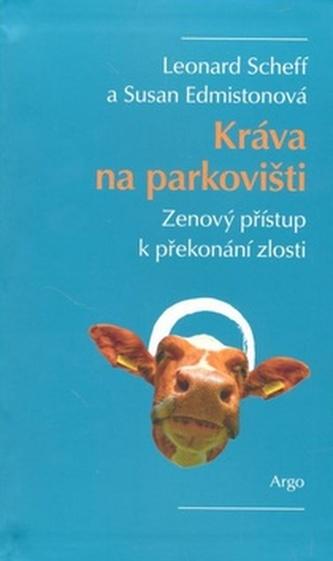 Kráva na parkovišti