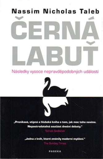 Černá labuť - Nassim Taleb