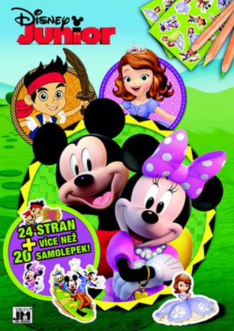 Disney Junior omalovánka