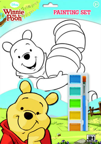 Medvídek Pú omalovánka