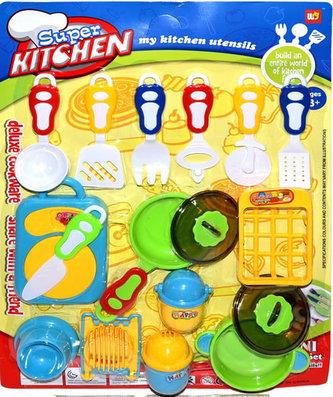 Nádobí dětské - set 17 kusů