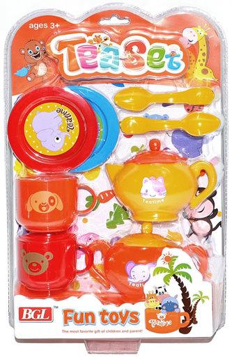 Nádobí dětské - set 10 kusů
