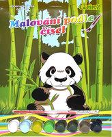Malování podle čísel - Panda
