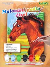 Malování podle čísel - Kůň