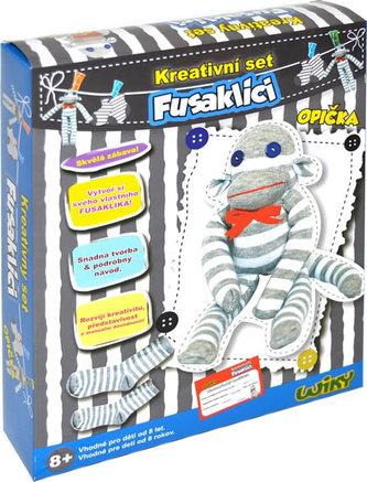 Kreativní set Fusaklíci - Opička