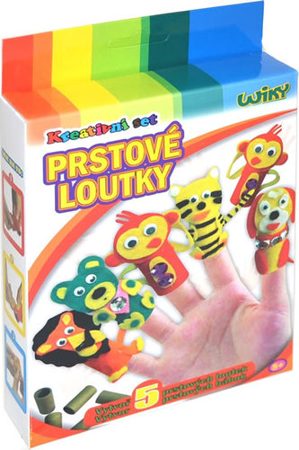 Kreativní set - Prstové loutky