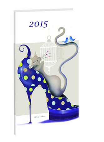 Diář A6 Catitudes týdenní 2015
