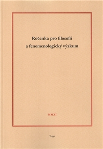 Ročenka pro filosofii a fenomenologický výzkum 2011