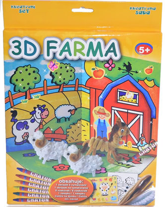 Kreativní set - 3D farma
